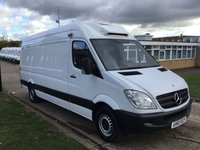 USED 2013 63 MERCEDES-BENZ SPRINTER 2.1 313CDI LWB FRIDGE FREEZER CHILLER. OVERNIGHT STANDBY. PX FINANCE. OVERNIGHT PLUG IN. PX WELCOME