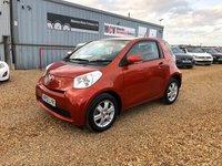 2012 TOYOTA IQ 1.0 VVT-I IQ 3d AUTO 68 BHP £4490.00