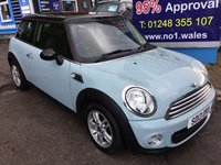 2013 MINI HATCH ONE 1.6 ONE 3d 98 BHP, only 44000 miles, 1 Owner £6995.00