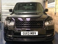 USED 2013 13 LAND ROVER RANGE ROVER 3.0 TD V6 Vogue SE SUV 5dr Diesel Auto 4WD (s/s) (258 ps) +FULL SERVICE+WARRANTY+FINANCE