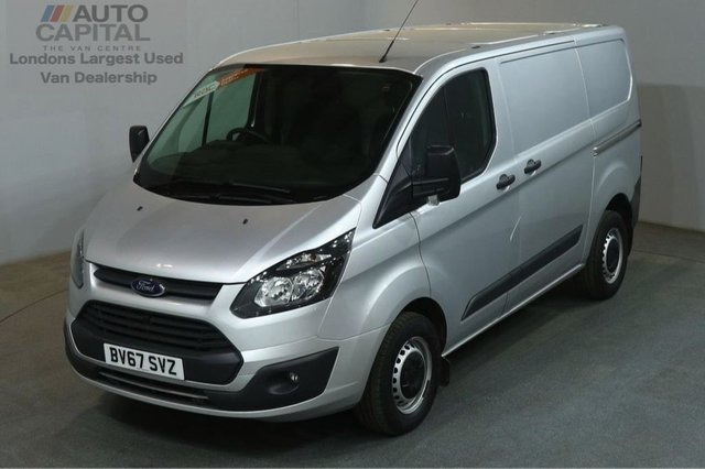 2017 67 FORD TRANSIT CUSTOM 2.0 290 105 BHP SWB L1 H1 AIR CON EURO 6 VAN AIR CONDITIONING EURO 6 ENGINE
