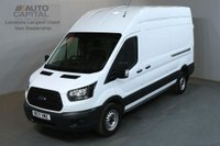 USED 2017 17 FORD TRANSIT 2.0 350 L3 H3 129 BHP LWB H/ROOF EURO 6 RWD VAN LOW MILEAGE FULL S/H