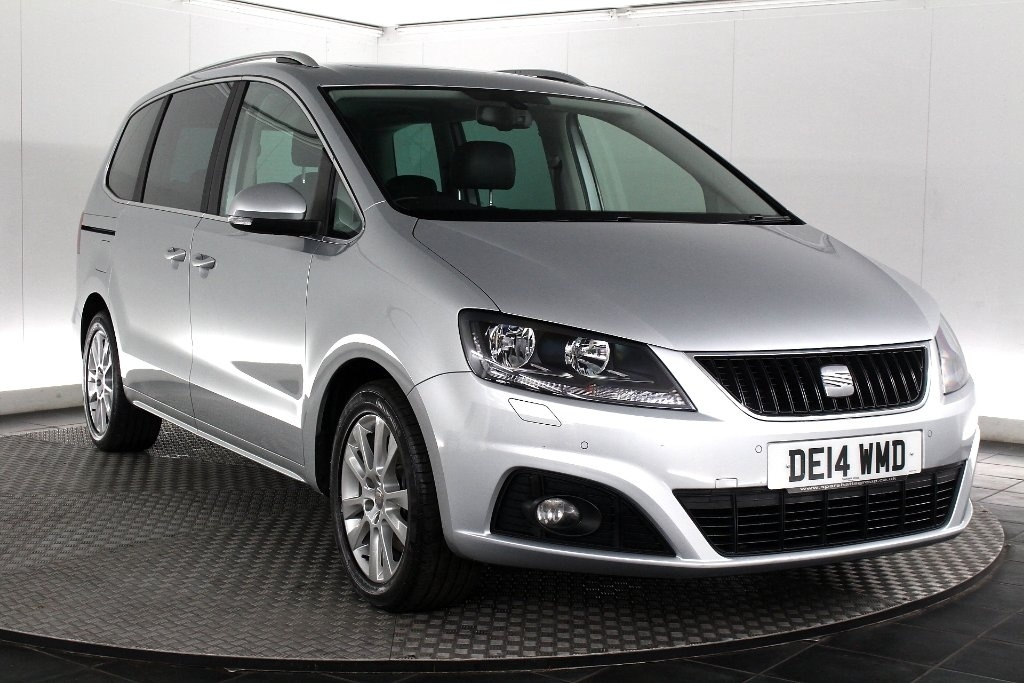View our 2014 14 SEAT ALHAMBRA  2.0 TDI CR SE Lux 5dr