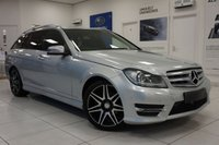 2013 MERCEDES-BENZ C CLASS 2.1 C220 CDI BLUEEFFICIENCY AMG SPORT PLUS 5d 168 BHP £11750.00