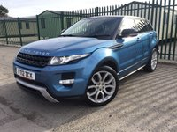 2012 LAND ROVER RANGE ROVER EVOQUE 2.2 SD4 DYNAMIC 5d AUTO 190 BHP PAN ROOF SAT NAV LEATHER  £18490.00