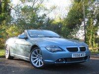 USED 2006 56 BMW 6 SERIES 3.0 630I SPORT 2d  **6 SPEED MANUAL**