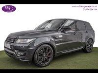 2015 LAND ROVER RANGE ROVER SPORT 3.0 SDV6 AUTOBIOGRAPHY DYNAMIC 5d AUTO 306 BHP £47995.00