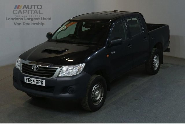 2014 64 TOYOTA HI-LUX 2.5 ACTIVE 4X4 D-4D DCB 142 BHP AIR CON PICK UP £9,490+VAT AIR CONDITIONING