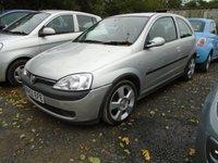 2003 VAUXHALL CORSA 1.4 SRI 16V 3d 90 BHP £1000.00