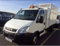 USED 2011 60 IVECO-FORD DAILY 35C11 2.3 LWB TOOL BOX CAGE TIPPER NO VAT 1 OWNER ARB TREE SURGEON TRUCK