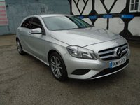 2015 MERCEDES-BENZ A CLASS 1.5 A180 CDI BLUEEFFICIENCY SPORT 5d AUTO 109 BHP £13996.00