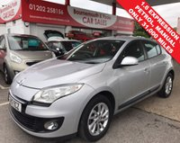 USED 2012 12 RENAULT MEGANE 1.6 EXPRESSION PLUS **ONLY 31,000 MILES**