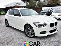 USED 2013 13 BMW 1 SERIES 3.0 M135I 5d AUTO 316 BHP 2 PREVIOUS OWNERS + FULL LEATHER