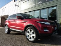 USED 2013 13 LAND ROVER RANGE ROVER EVOQUE 2.2 SD4 PURE TECH 5d AUTO 190 BHP