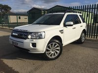 2011 LAND ROVER FREELANDER 2 2.2 SD4 HSE 5d AUTO 190 BHP PAN ROOF SAT NAV LEATHER FSH £11990.00