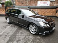 2011 MERCEDES-BENZ E CLASS 3.0 E350 CDI BLUEEFFICIENCY SPORT 5d AUTO 265 BHP £14490.00