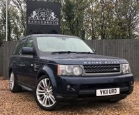 USED 2011 11 LAND ROVER RANGE ROVER SPORT 3.0 TDV6 HSE 5dr AUTO 1 Year Parts & Labour Warranty