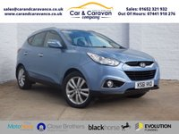 USED 2012 61 HYUNDAI IX35 2.0 PREMIUM CRDI 4WD 5d 134 BHP Hyundai History Bluetooth A/C Buy Now, Pay in 2 Months!