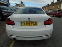 USED 2014 14 BMW 2 SERIES 2.0 220D SPORT 2d 181 BHP