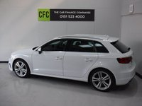 USED 2014 14 AUDI A3 2.0 TDI S LINE 5d 148 BHP BEAUTIFUL CAR FINISHED IN GLEAMING ALPINE WHITE. ONE OWNER FROM NEW WITH FULL AUDI HISTORY, THIS CAR HAS BEEN SERVICED REGARDLESS OF COST WITH SOME NICE SPECIFICATIONS, INC SAT NAV, HALF LEATHER DRL HEADLAMPS,,DUAL CLIMATE CONTROL, ELEC HEATED MIRRORS, TWIN BAR 18INCH UPGRADED ALLOYS, FLAT BOTTOM,MULTI FUNCTION LEATHER CLAD STEERING WHEEL, AUDI MULTI MEDIA SYSTEMS WITH USB AND AUX POINTS. The Car Finance Companies are Pleased to Present a Wide Range of Pre Owned Vehicles.