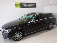 USED 2015 64 MERCEDES-BENZ C CLASS 2.1 C250 BLUETEC SPORT 5d AUTO 204 BHP AMAZING CAR IN WITH AMAZING SPEC, GLEAMING OBSIDIAN BLACK METALIC, FULL DEALER HISTORY, WITH FULL BLACK ARTICO LEATHER, SAT NAV, 2 KEYS, AND MUCH, MUCH MORE,
