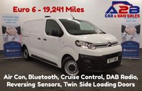 USED 2017 17 CITROEN DISPATCH 1.6 HDi 115 BHP ENTERPRISE Euro 6 with Ad-Blue, Stop/Start, Aircon, Bluetooth, DAB, Rear Parking Sensors **Drive Away Today** Over The Phone Low Rate Finance Available, Just Call us on 01709 866668