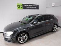 USED 2014 14 AUDI A3 2.0 SPORTBACK TDI S LINE 5d 182 BHP . Specification Includes,AMAZING CAR IN GLEAMING METALLIC GRAY WITH ONE OWNER AND FULL AUDI SERVICE HISTORY THIS CAR IS TRULY OUTSTANDING WITH SAT NAV, CRUSE CONTROL, MULTI FUNCTION FLAT BOTTOM LEATHER CLAD STEERING WHEEL FACTORY PRIVACY GLASS, HALF LEATHER TRIM, 18INCH TWIN BAR ALLOYS, DRL HEADLAMPS, REAR PARKING SENSORS,BLUE TOOTH PHONE PREP FULLY SERVICED READY TO GO                               Information Please Call Now on 0151525 4400,  07967141248. Family Run Business Since 1990