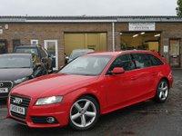 2009 AUDI A4 2.0 AVANT TDI S LINE SPECIAL EDITION 5d 141 BHP £6795.00