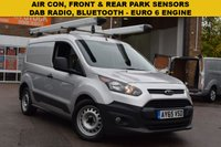 USED 2016 65 FORD TRANSIT CONNECT 1.5 200 ECONETIC P/V 1d 99 BHP EURO 6 1.5 TDCI engine, 1 owner, service history, AIR CON.