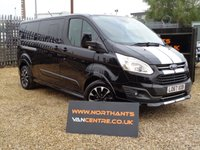 2018 FORD TOURNEO CUSTOM 2.0 290 SPORT L2 TDCI 5d 170 BHP 8 SEATER *NO VAT* £26990.00