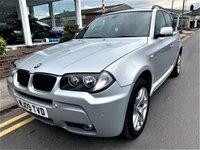 2009 BMW X3 2.0 D M SPORT 5d 175 BHP £6995.00