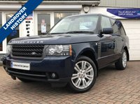 USED 2010 60 LAND ROVER RANGE ROVER 4.4 TDV8 VOGUE 5d AUTO 313 BHP 4.4 TDV8 RANGE ROVER VOGUE - LOW MILES WITH MAIN AGENT HISTORY