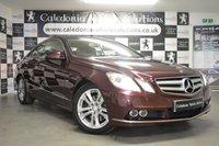 2011 MERCEDES-BENZ E CLASS 3.0 E350 CDI BLUEEFFICIENCY SE 2d AUTO 231 BHP £11888.00