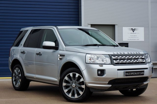 2012 62 LAND ROVER FREELANDER 2.2 SD4 HSE AUTO 190 BHP (SAT NAV / SUNROOF)