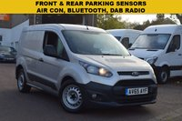 USED 2016 65 FORD TRANSIT CONNECT 1.5 200 ECONETIC P/V 1d 99 BHP Euro 6 1.5tdci 100 engine, parking sensors, air con, side sliding door, low mileage.