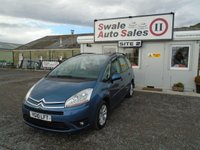 USED 2010 10 CITROEN C4 GRAND PICASSO 1.6 VTR PLUS HDI EGS 5 DOOR 7 SEATS AUTO 107 BHP