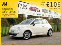 2014 FIAT 500 1.2 LOUNGE 3d 69 BHP £5685.00