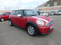 USED 2011 61 MINI HATCH COOPER 1.6 COOPER 3d 122 BHP DAB RADIO * GOT BAD CREDIT * WE CAN HELP * APPLY NOW