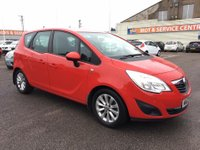 USED 2012 62 VAUXHALL MERIVA 1.4 ACTIVE 5d 99 BHP CRUISE * MEDIA CONNECTION * BAD CREDIT * WE CAN HELP
