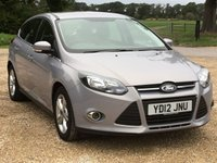 USED 2012 12 FORD FOCUS 1.0 ZETEC 5d 99 BHP