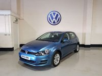 2014 VOLKSWAGEN GOLF 1.6 SE TDI BLUEMOTION TECHNOLOGY 5d 103 BHP £8977.00