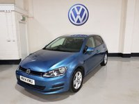 USED 2014 14 VOLKSWAGEN GOLF 1.6 SE TDI BLUEMOTION TECHNOLOGY 5d 103 BHP 1 Prev Owner/ Service History /Bluetooth/ £0 Road Tax