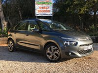 USED 2013 63 CITROEN C4 PICASSO 1.6 E-HDI AIRDREAM EXCLUSIVE 5dr £20 Tax, Sat Nav, Huge Spec
