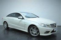 2009 MERCEDES-BENZ E CLASS 3.0 E350 CDI BLUEEFFICIENCY SPORT 2d AUTO 231 BHP £9995.00