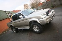USED 2004 54 MITSUBISHI L200 2.5 TD 4WD LWB WARRIOR DCB 1d 114 BHP + 2 KEEPERS + CAM BELT CHANGED + CHEAP WORKHORSE