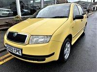 2002 SKODA FABIA 1.9 CLASSIC SDI 5d 63 BHP £995.00