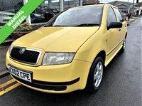 2002 SKODA FABIA 1.9 CLASSIC SDI 5d 63 BHP £595.00