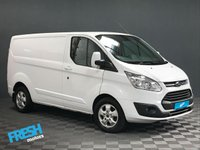 USED 1970 FORD TRANSIT CUSTOM 290 LIMITED LR P/V 2.0 290 LIMITED L1H1 * 0% Deposit Finance Available