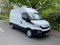 USED 2015 15 IVECO-FORD DAILY MWB HIGH ROOF REFRIGERATED FRIDGE VAN 2.3 126 BHP 35S13V 1 OWNER NEW MODEL