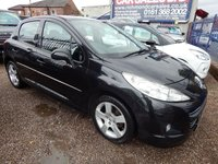 USED 2010 10 PEUGEOT 207 1.6 SPORT HDI 5d 90 BHP FULL SERVICE HISTORY, GREAT ECONOMY, ALLOY WHEELS